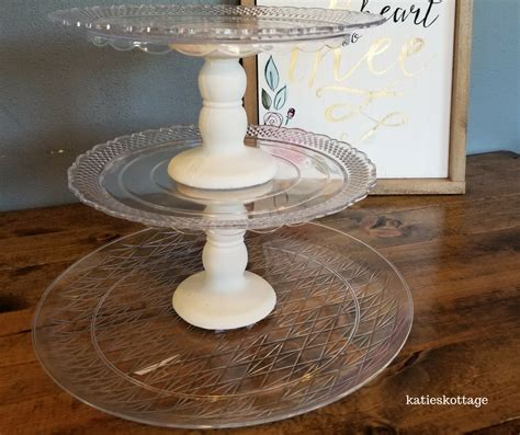 Diy Cupcake Stand From Dollar Tree