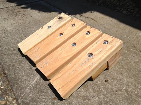 Diy Curb Ramp Wood