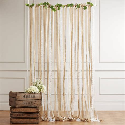 Diy Curtain Backdrops For Weddings