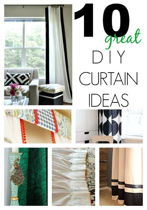 Diy Curtains For Bedroom