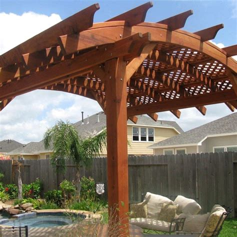 Diy Curved Pergola Braces