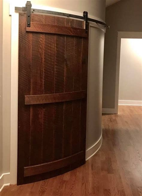 Diy Curving Barn Door