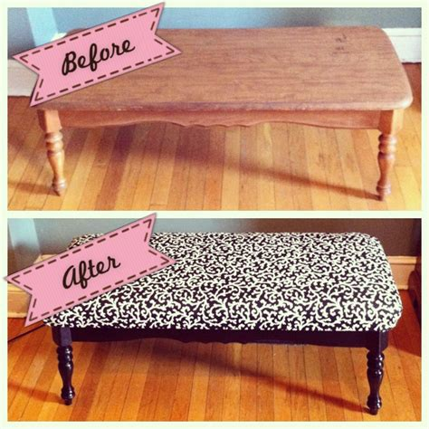 Diy Cushion Coffee Table