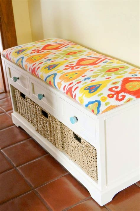 Diy Cushion For Storage Bench