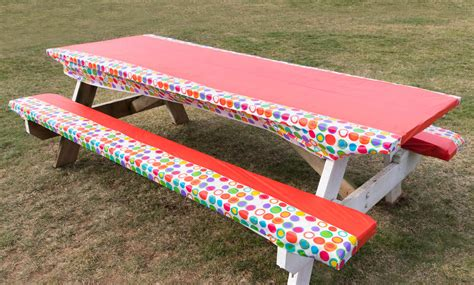 Diy Cushions For Picnic Table