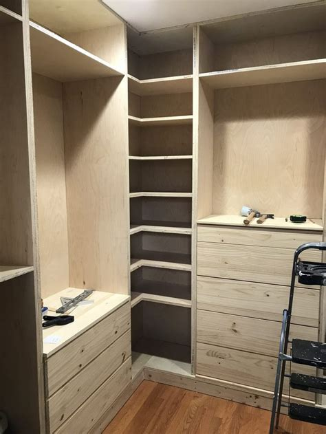 Diy Custom Built In Closet