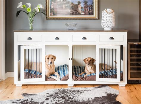 Diy Custom Dog Kennel Furniture Plans