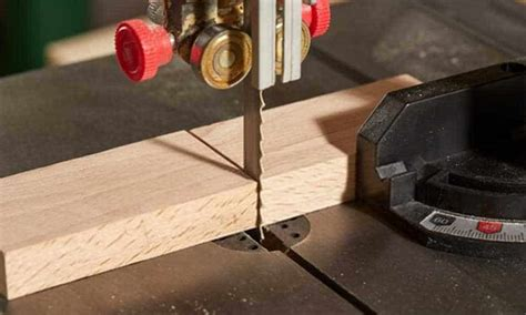 Diy Cut Wood Knotch Using A Band Saw Videos