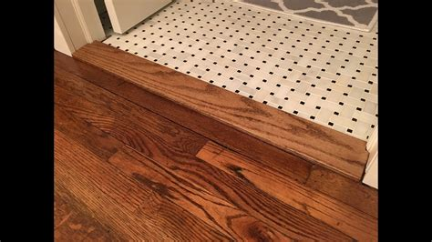 Diy Cut Wood Transition Thresholds