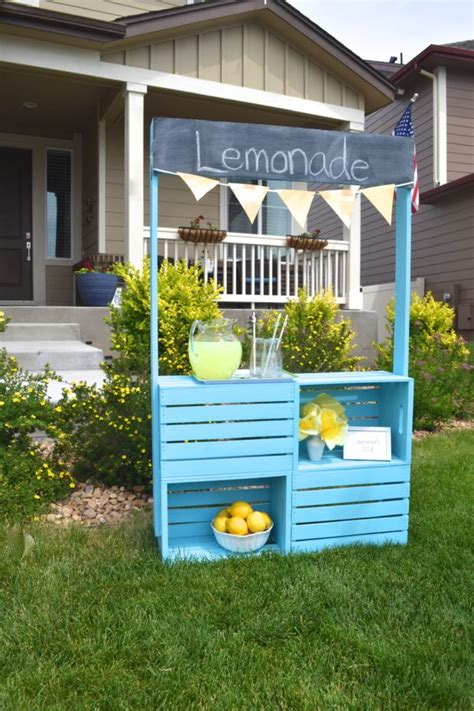 Diy Cute Lemonade Stand