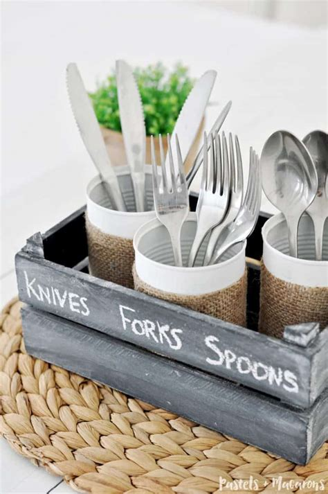 Diy Cutlery Caddy