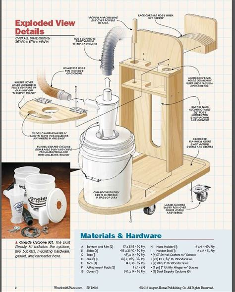 Diy Cyclone Dust Collector Plans