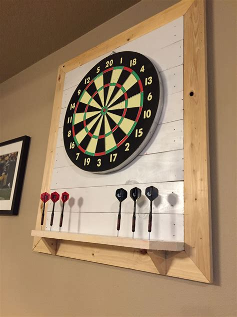 Diy Dartboard Backboard