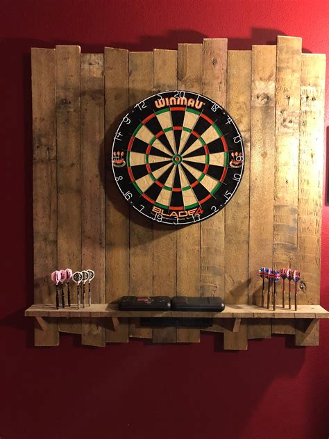Diy Dartboard Backer