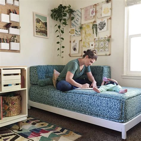Diy Daybed From A Twin Bed