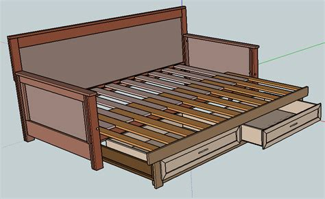 Diy Daybed With Pull Out Bed