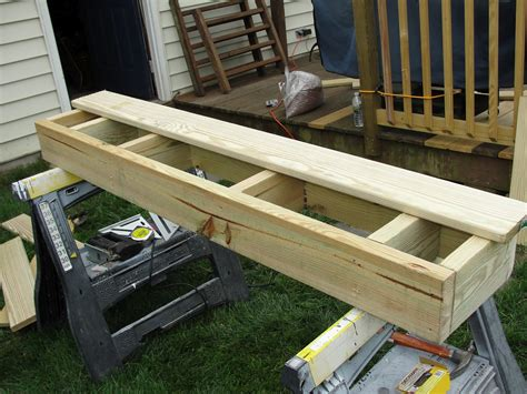Diy Deck Box Steps