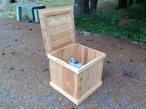 Diy Deck Boxes For Propane Tanks
