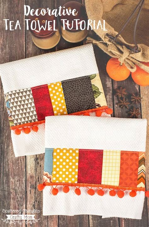 Diy Decorating Tea Towels