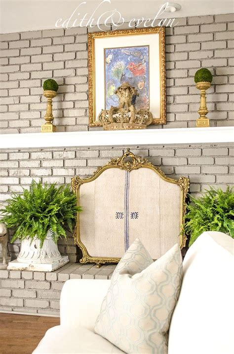 Diy Decorative Fireplace Screen