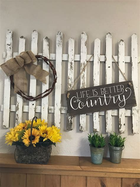 Diy Decorative Picket Fence