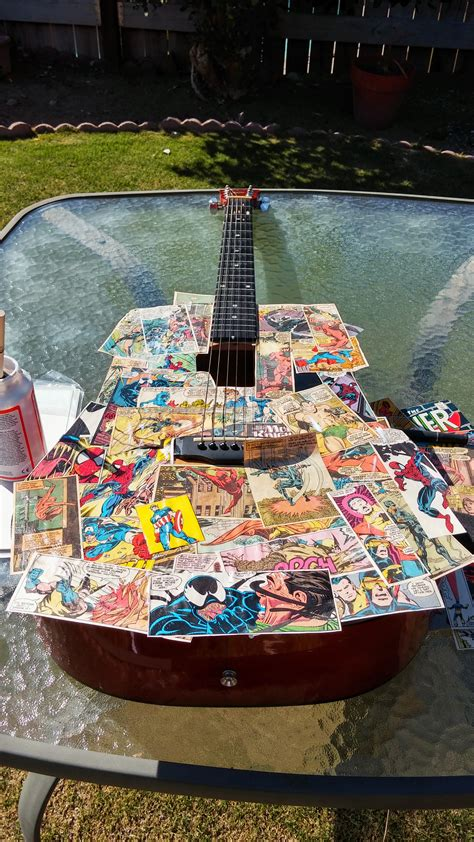 Diy Decoupage Comics