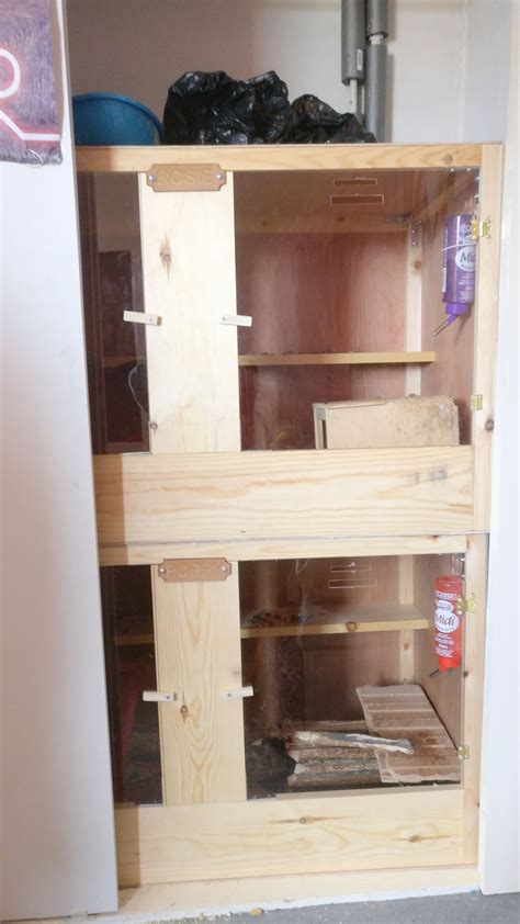 Diy Degu Wood Cage Shelves