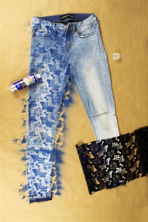 Diy Designs On Jeans
