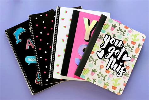 Diy Designs On Notebook Covers