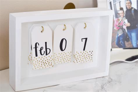 Diy Desk Calendar Pad