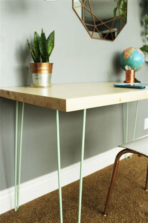 Diy Desk Hairpin Leg