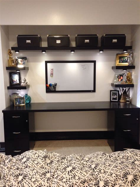 Diy Desk Ideas With File Cabinets