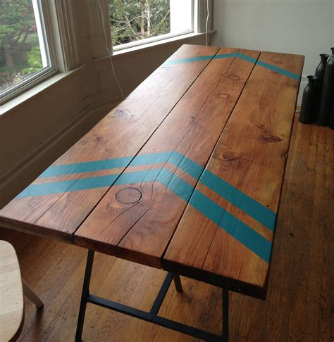 Diy Desk Legs Crayon Look