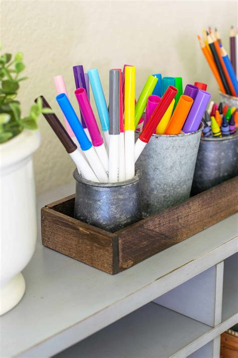 Diy Desk Organizer Back To School