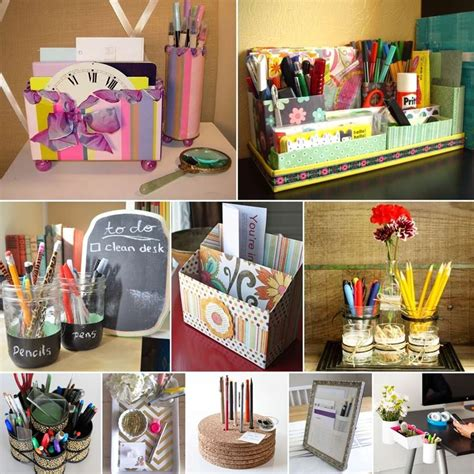 Diy Desk Organizer House