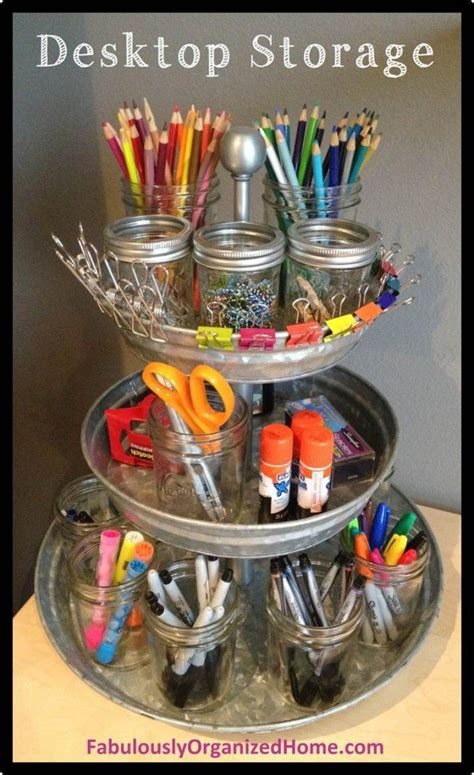 Diy Desk With Storage Ideas