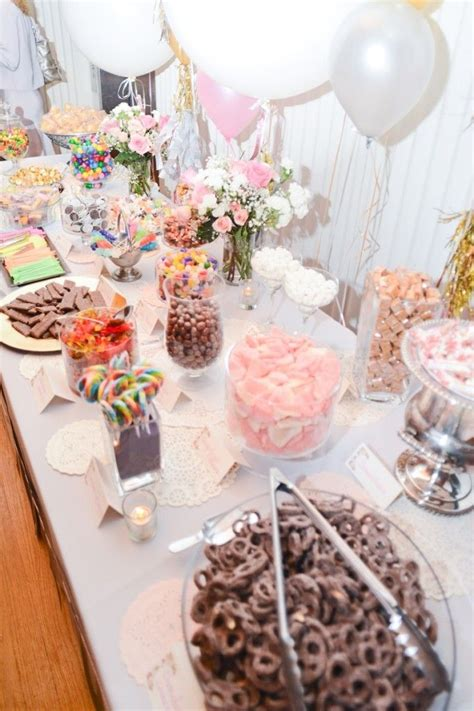 Diy Dessert Candy Buffet Ideas