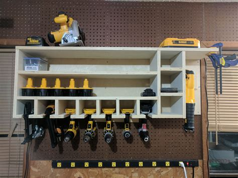Diy Dewalt Drill Holder