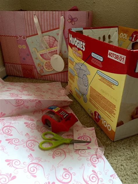 Diy Diaper Box Bins