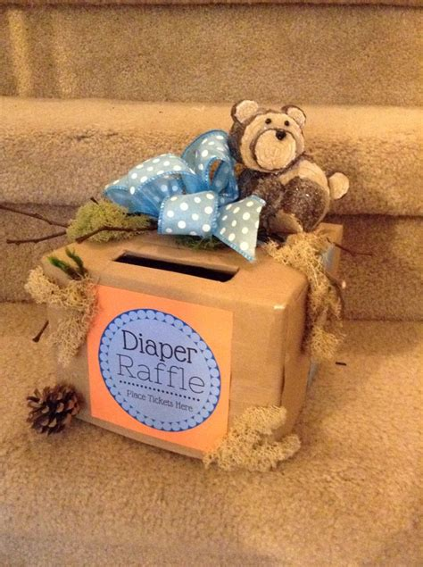 Diy Diaper Raffle Box