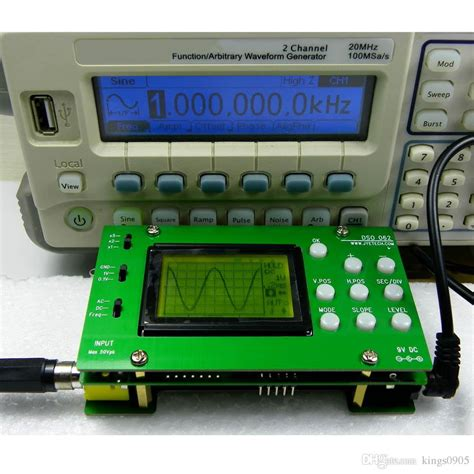 Diy Digital Storage Oscilloscope Kit For Computer