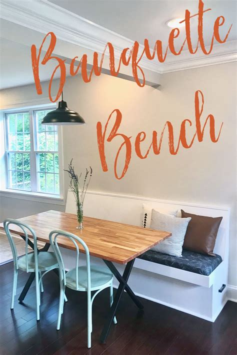Diy Dining Banquette Bench