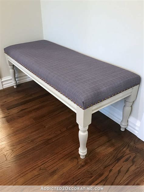 Diy Dining Room Upholstered Bench Seating
