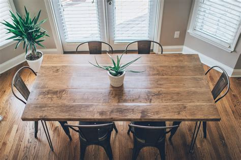 Diy Dining Table Bench Hairpin Legs