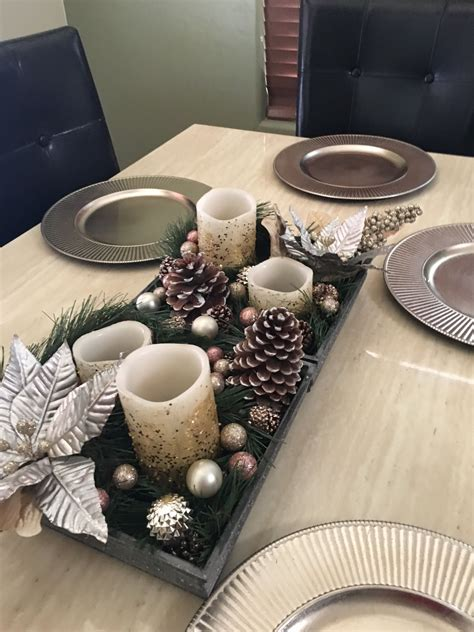Diy Dining Table Centerpieces Pinterest