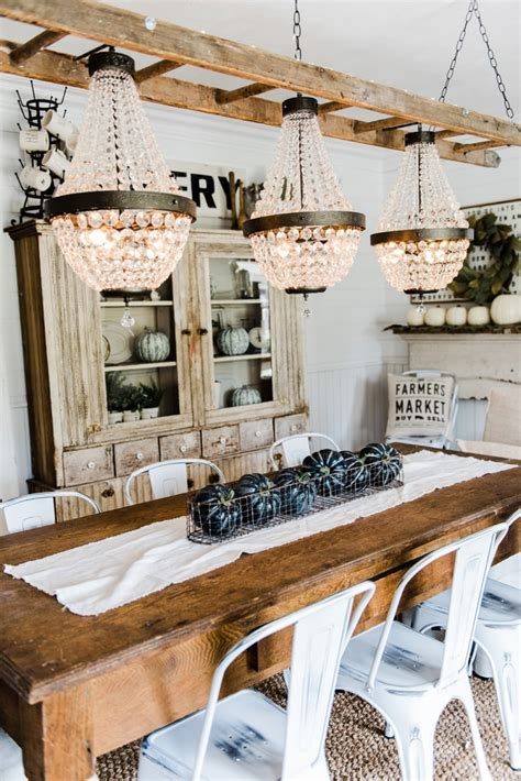 Diy Dining Table Chandelier Farm