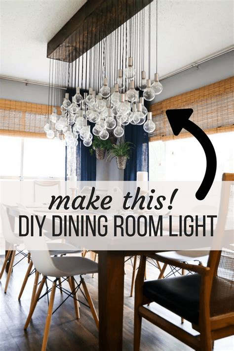 Diy Dining Table Light Fixture