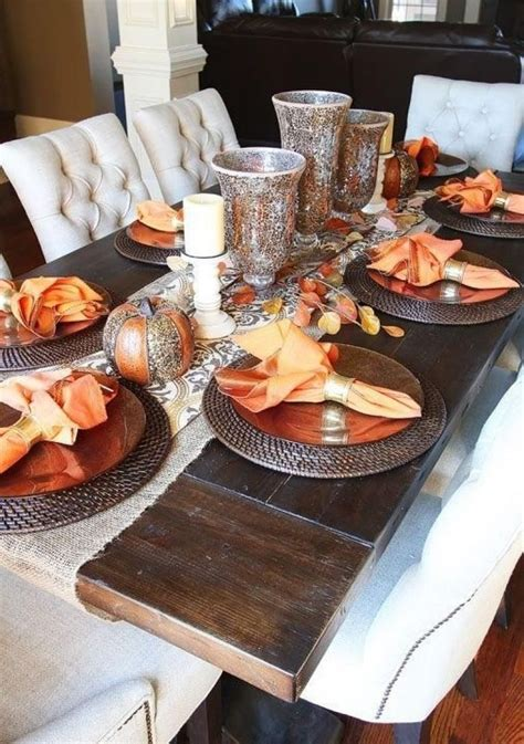 Diy Dinner Table Decorating Ideas For Fall