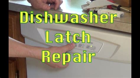 Diy Dishwasher Door Repair