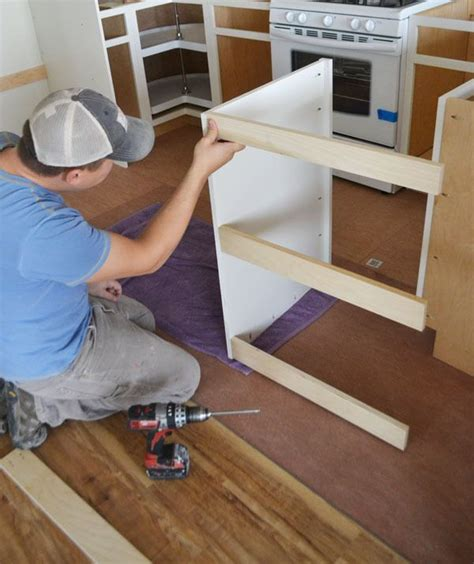 Diy Dishwasher End Cabinet